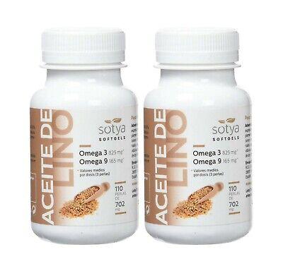 2 x ACEITE DE LINO 710 mg 110 perlas - SOTYA -...