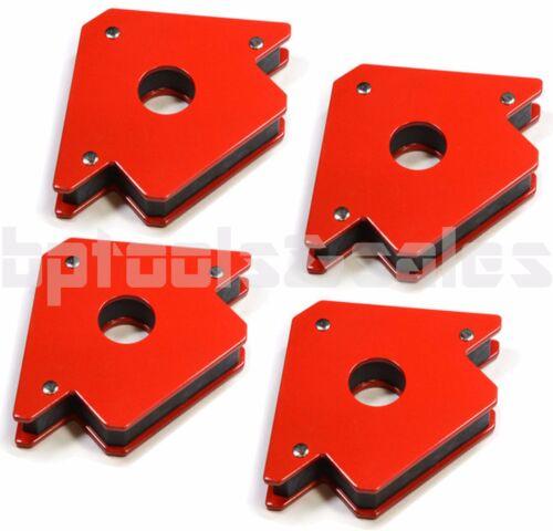 "4 Pack 4"" 50lb Strength Strong Welding Magnetic Arrow Holder Magnets Magnet"