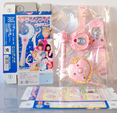 Pretty Guardian Sailor Moon PGSM Mate Candy Toy RP Wand Compact Live Action