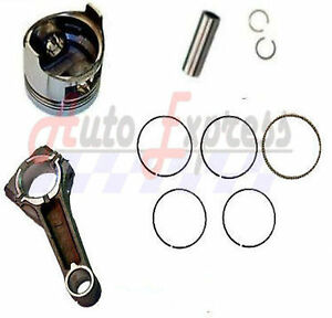 Honda GXV390 Piston and Rings Pin Clips Set Conecting Rod  GXV 390 13101-ZF6-W00