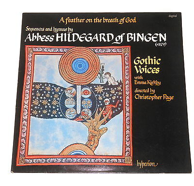 Gothic Voices - Emma Kirkby - LP - HILDEGARD OF BINGEN - A Feather On The Breath