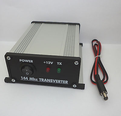 144 to 28 MHz ASSEMBLED TRANSVERTER 2meters 2m 144mhz 146mhz