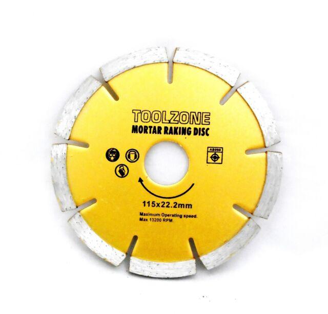 Mortar Raking Diamond Disc 115 mm x 22.2 mm x 6 mm