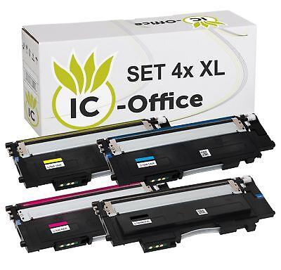 4 Toner XL für Samsung Xpress  C430W C480FW SL-C430W SL-C480W SL-C480FN CLT-404S