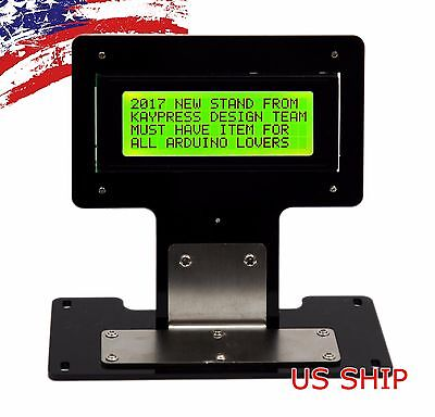 Green Serial Iici2ctwi 2004 20x4 Character Lcd Led Display Stand For Arduino