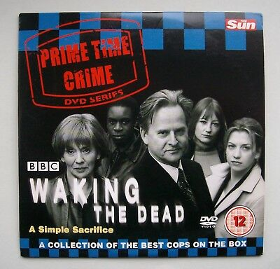 Waking The Dead DVD, A Simple Sacrifice. Certificate. 12. for sale  Shipping to South Africa