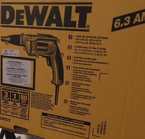New DeWalt DW272 Heavy Duty Drywall Screwdriver