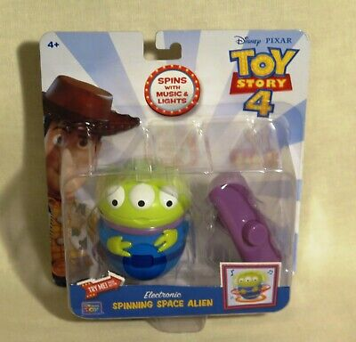 Disney Pixar Toy Story 4 Electronic Spinning Space Alien With Music & Lights