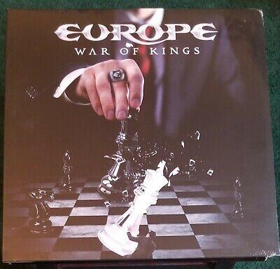 Europe - War of Kings Sealed LP Album LC 24677 (Bon Jovi Aerosmith ABBA Poodles)