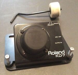 Roland KD-7: Kick Trigger Unit with beater