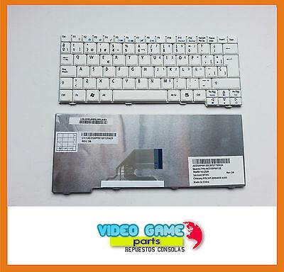 Teclado Acer Aspire One Blanco Español D150 D250 KAV60 P531 MP-08B46E0-9203