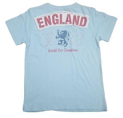 Jungen Haywire England Lions Weltmeisterschaft T-Shirt mit Design der Rückseite ()