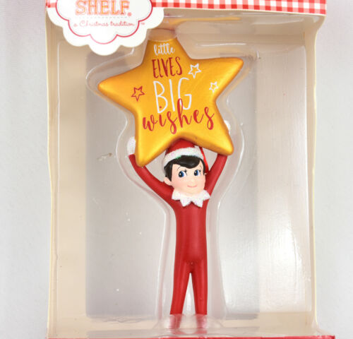 Department 56  Elf On The Shelf Little Elves Big Wishes Christmas Ornament