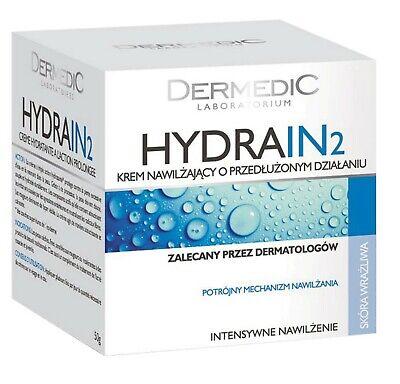 Dermedic Hydrain 2 Intensively Moisturizing Face Cream for Very Dry Skin 50ml
