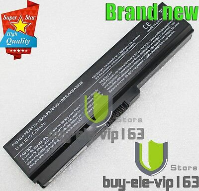 PA3817U-1BRS C655 For Toshiba Satellite L655 Laptop Battery PC Power Pack
