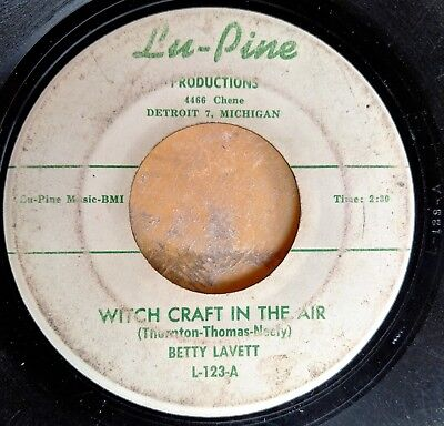 R&B SOUL HALLOWEEN 45: BETTY LAVETT Witch Craft in the Air/You Killed the - R&b Halloween Music
