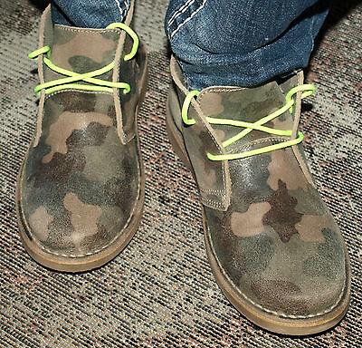 Selected Desert Boots Leder LULU Chukka Ankle STIEFEL Gr.40 LAGENLOOK MILITARY