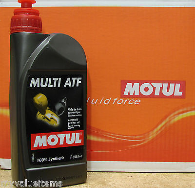 Motul MULTI ATF Automatic Gearbox Oil - 100% Synthetic - 1 L - New - 103221