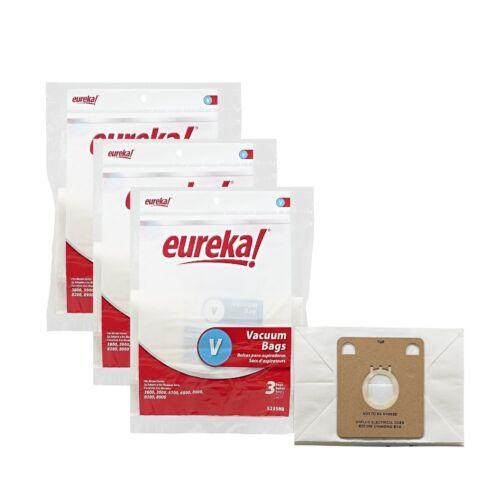 Eureka Style V (52358A) Vacuum Bags 9 Pack