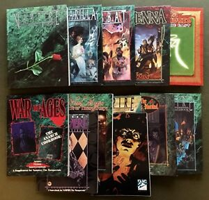 RPG Vampire the Masquerade 11 Book Bundle
