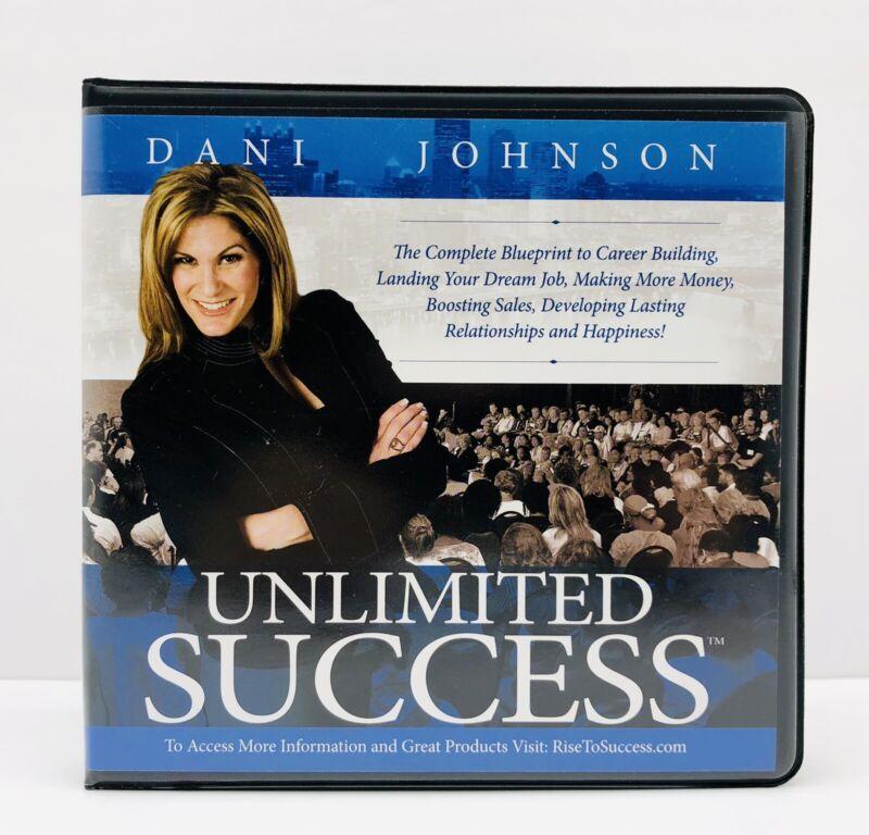 Dani Johnson Unlimited Success10 CD Set  EUC