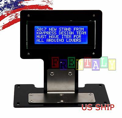 Blue Serial Iici2ctwi 2004 20x4 Character Lcd Led Display Stand For Arduino