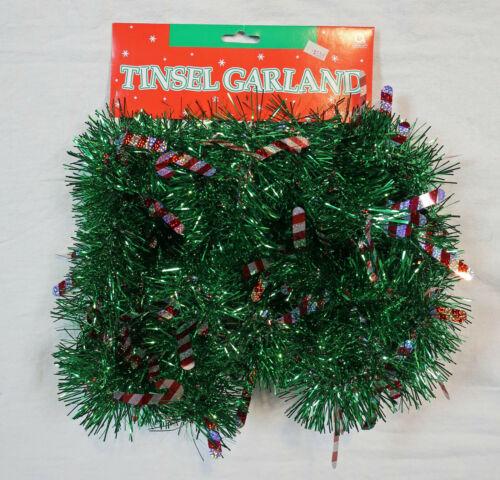 Christmas Tree Tinsel Garland 12 foot long