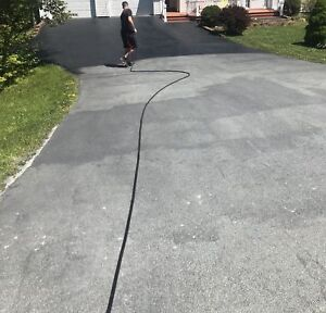 A-PLUS Driveway Sealing! Free estimates