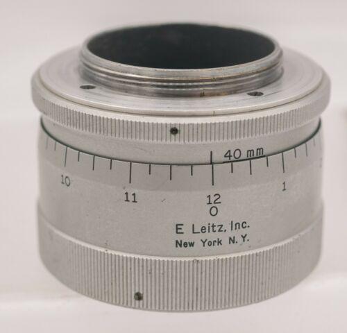 Leitz Leica Micrometer COOMI Lens Focusing M39 Rangefinder Camera Helicoid Mount