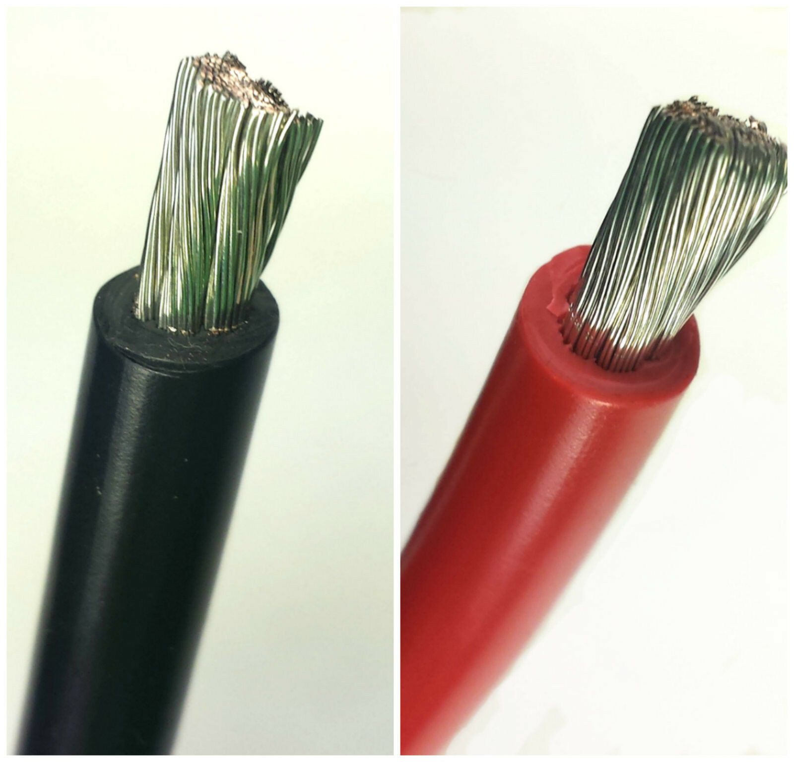 8 AWG Gauge Battery Cable, Marine Grade Wire Tinned Copper Auto ...