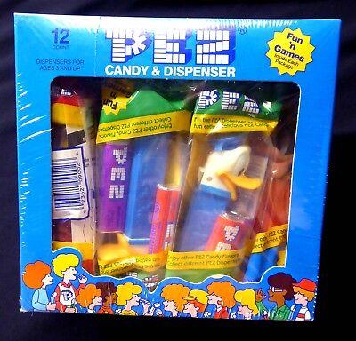 Disney Pez Candy & Dispensers 12 ct Sealed Box #241 New1996 Retail Display Box