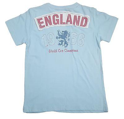 Jungen Haywire England Löwen Weltmeisterschaft T-Shirt mit Design ()