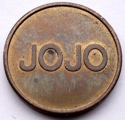 GERMANY, JOJO SB Waschanlagen Car Wash Token 22.2mm 6.3g Brass, Rare HH5.3