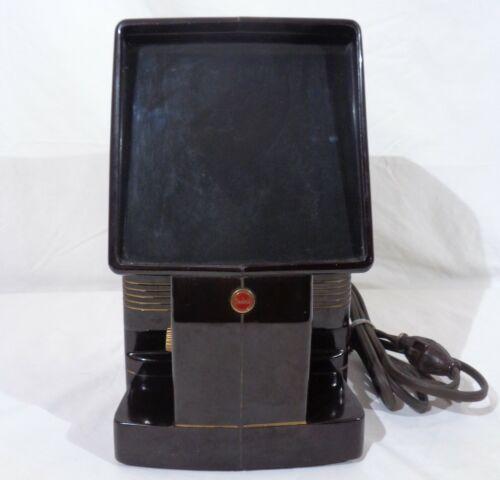 Vintage Bakelite Kodak Kodaslide Table Viewer 4X Single Slide Viewer Tested