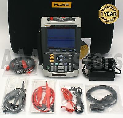 Fluke 199xray Medical Scopemeter Kvp Dual-input 200mhz Oscilloscope 199