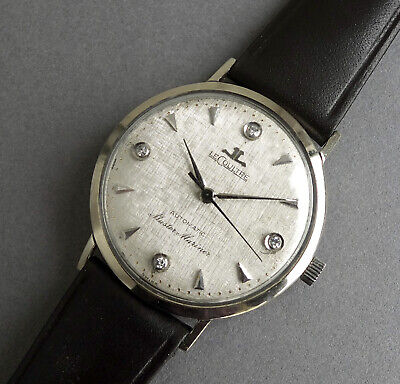 JAEGER LECOULTRE 14K SOLID GOLD MASTER MARINER Automatic Vintage Watch 1962
