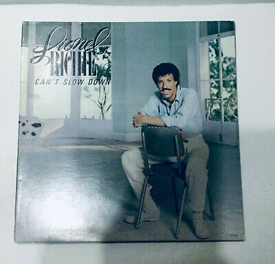 LIONEL RICHIE Can't Slow Down Vinyl LP 1983 Motown 6059 ML Grammy Best