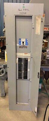 400 Amp 208v120v 240v 350 300 Main Breaker Panel Board Cutler Hammer 30 Circuit