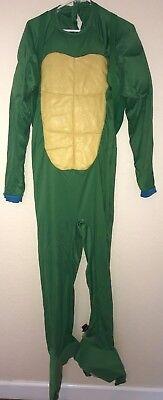 teen boy MEN TEENAGE MUTANT NINJA TURTLE HALLOWEEN COSTUME JUMPSUIT SHELL small - Halloween Costume Ninja Turtle Shell