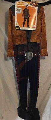 Star Wars Adult Mens Medium Costume Han Solo Rubies Jumpsuit Jacket Belt (Han Solo Costume Belt)