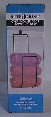 InterDesign Clacssico Handtuchhalter Handtuchkorb für Duschwand