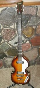 HOFNER / Ignition-Icon Electric Violin Beatle Bass / Righty / Flamed Sunburst