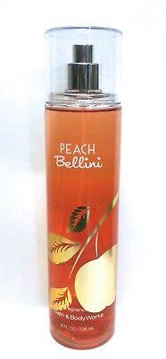 Bath & Body Works Peach Bellini Fine Fragrance Mist Spray 8 oz