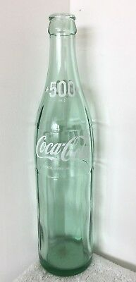 Vintage Japanese Coca Cola Coke Bottle - 500ml - ACL Green Glass 78 26 T2 (A)