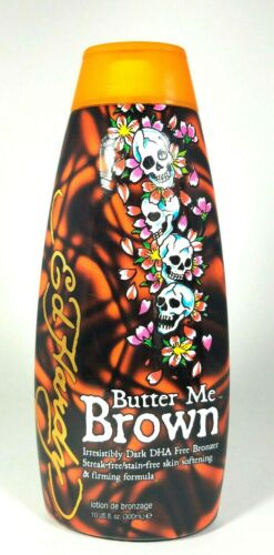Ed Hardy BUTTER ME BROWN Indoor Tanning Bed Lotion 10 oz
