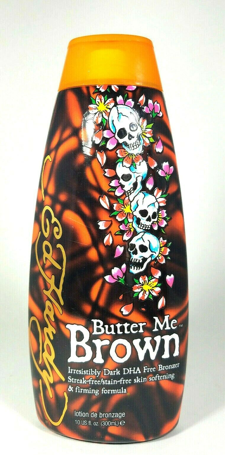 ED HARDY Butter Me Brown DHA FREE Streak & Stain Free Bronze