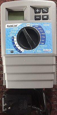 12 Station Indoor Controller - Irritrol 12 Station KwikDial Sprinkler System INDOOR Controller KD12-INT