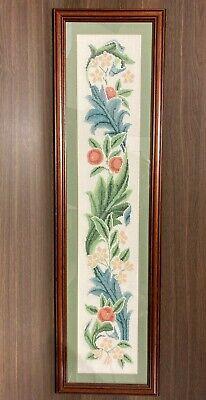 Stunning Vintage Framed Tapestry Panel