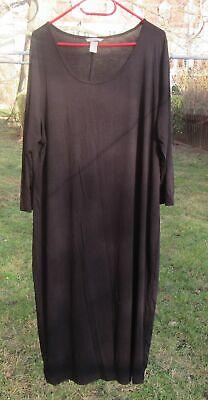 Schwarzes schlichtes Kleid von H&M+ Größe 2XL