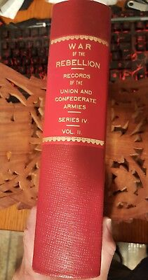 War of the Rebelloon: Records of the Union & Confederate Armies Series II Vol.IV